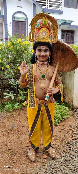 Anirudh V Arun I B-1st Prize(Class I&II)
