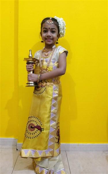 Fathima Nadyne Navaz II A-1st Prize(Class I&II)
