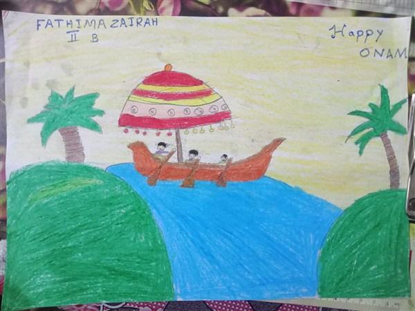 Fathima Zairah II B-3rd Prize(Class I&II)