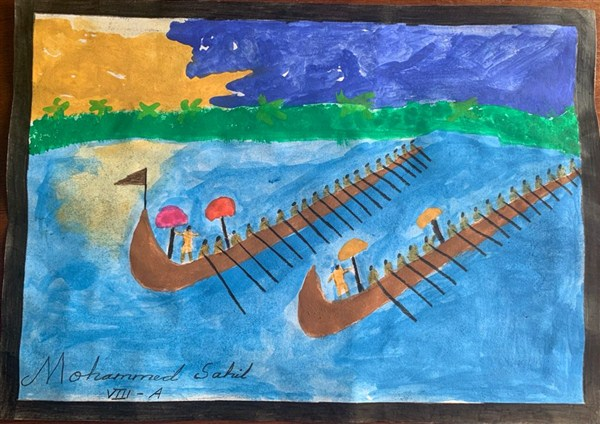 Mohammed Sahil Ithikkat 8A-3rd Prize(Class 6,7,8)